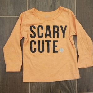 12 Month Baby Girl Halloween T-shirt